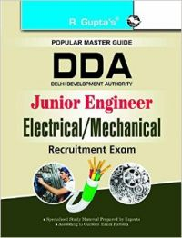 DDA : Junior Engineer (Electrical/Mechanical) Recruitment Exam Guide (English) (Paperback  RPH Editorial Board): Book by R Gupta