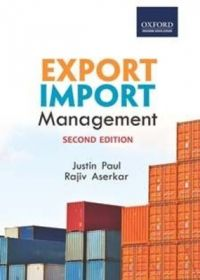 Export Import Management (English) 0002 Edition (Paperback): Book by Justin Paul