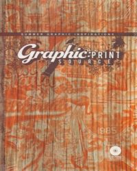 Graphic Print Source: Summer Graphic Inspirations (English) with 1 Disc (Hardcover)
