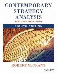 Contemporary Strategy Analysis : Text and Cases (English) 8th Edition: Book by Robert M. Grant