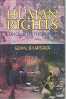 Human Rights: Concern of The Future: Book by Gopal Bhargava