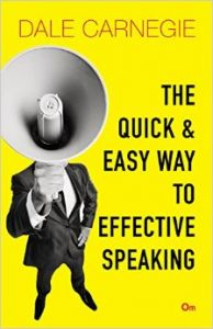 The Quick and Easy Way to Effective Speaking: Book by Dale Carnegie