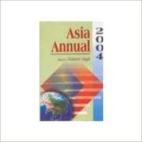 ASIA ANNUAL 2004 (English): Book by MAHAVIR SINGH(Ed. )