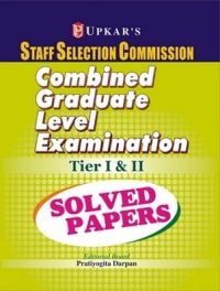 SSC Staff Selection Commission Combined Graduate Level Examination Tier 1 and 2: Solved Papers (English) (Paperback): Book by Editorial Board : Pratiyogita Darpan