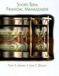 Short-Term Financial Management (Dryden Press Series in Finance) (English) Facsimile Edition (Hardcover): Book by Terry S. Maness