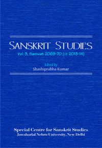 Sanskrit Studies (English): Book by Dr. Shashiprabha Kumar
