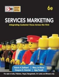 Services Marketing: Integrating Customer Focus Across the Firm: Book by Valarie A. Zeithaml