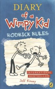 Rodrick Rules (Diary of a Wimpy Kid book 2) (Paperback): Book by Jeff Kinney