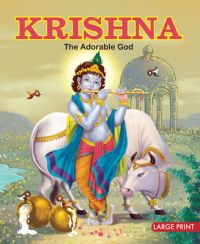 KRISHNA - THE ADORABLE GOD (English) (Hardcover): Book by OM Books