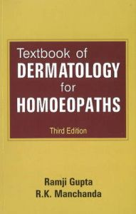 TEXTBOOK OF DERMOTOLOGY FOR HOMOEOPATHS: Book by Ramji Gupta