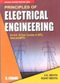 Principles Of Electrical Engineering Book By V K Mehta Best