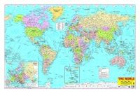 World Map (English) (Paperback): Book by Dreamland Publications