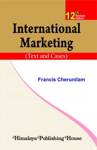 international marketing francis cherunilam