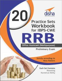 20 Practice Sets Workbook for IBPS-CWE RRB Office Assistant (Multipurpose) Preliminary Exam: Book by Disha Experts