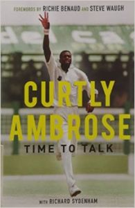 Time to Talk (English) (Paperback): Book by Curtly Ambrose