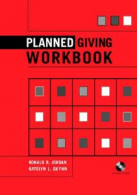 Planned Giving: Workbook: Book by Ronald R. Jordan