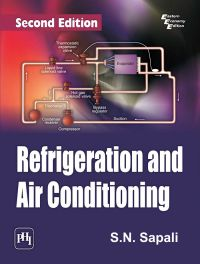 REFRIGERATION AND AIR CONDITIONING: Book by SAPALI S. N.