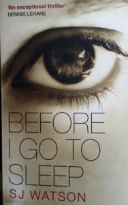 Before I Go To Sleep (English) (Paperback): Book by S. J. Watson