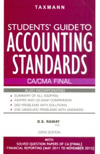 Dsrawat Students Guide To Accounting Standards
