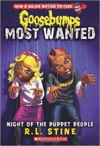 Goosebumps Most Wanted #8: Night of the Puppet People (English) (Paperback): Book by R.L. Stine