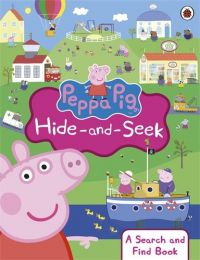 Peppa Pig: Peppa Hide-and-Seek: A Search and Find Book (English): Book by NA