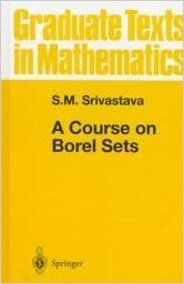 A COURSE ON BOREL SETS (English) (S): Book by SRIVASTAVA S. M.