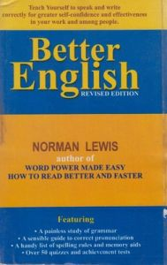 Better English PB (English) 1st Edition (Soft Cover): Book by Norman Lewis