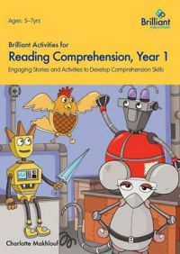 Brilliant Activities for Comprehension, Year 1: Book by Charlotte Makhlouf
