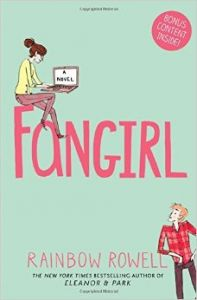 Fangirl (English) (Paperback): Book by  Rainbow Rowell lives in Omaha, Nebraska. FANGIRL is her second YA novel - the first, ELEANOR & PARK, spent six weeks on the New York Times bestseller list.