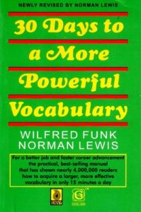 30 Days To A More Powerful Vocabulary (English) 1st Edition: Book by Norman Lewis
