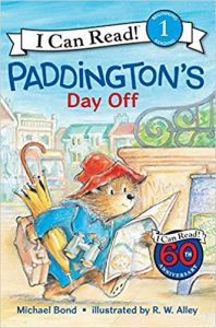 Paddington's Day Off: Book by Michael Bond, R. W. Alley