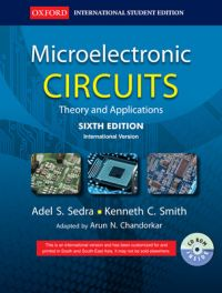 Microelectronic Circuits: Theory and Applications (English) 6th Edition (Paperback): Book by Adel S. Sedra
