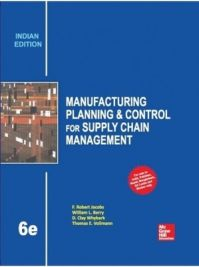 Manuf.Plan.Control 4 Supply: Book by Jacobs