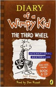 DWK 7 : The Third Wheel Book & CD (English) (Paperback): Book by Kinney, Jeff