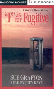 F is for Fugitive Cassette X2 #: Book by Sue Grafton