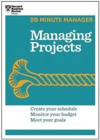 Managing Projects (English): Book by Harvard Business Review