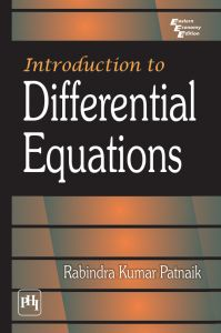 Introduction to Differential Equations: Book by PATNAIK RABINDRA KUMAR