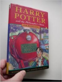 HARRY POTTER AND THE PHILOSOPHER'S STONE: Book by J.K.ROWLING