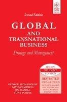 Global And Transnational Business: Strategy And Management, 2Nd Ed 2nd Edition