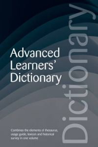 Advanced Learners' Dictionary: Book by Martin H. Manser