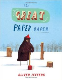 The Great Paper Caper: Book by Oliver Jeffers