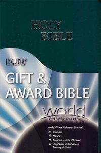 Gift & Award Bible-KJV-World Visual Reference System