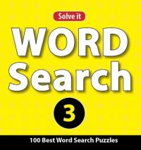 WORD SEARCH PUZZLES 3 (English) (Paperback): Book by Leads Press