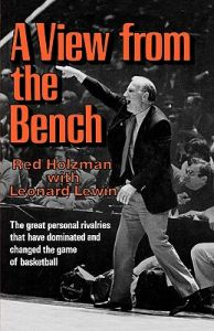A View from the Bench: Book by Red Holzman
