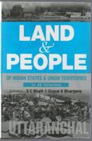 Land And People of Indian States & Union Territories (Uttranchal), Vol- 27th: Book by Ed. S. C.Bhatt & Gopal K Bhargava