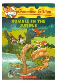 Rumble in the Jungle (English) (Paperback): Book by Geronimo Stilton