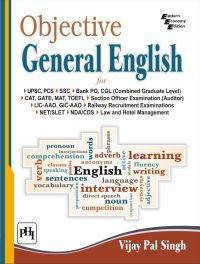 OBJECTIVE GENERAL ENGLISH: Book by SINGH VIJAY PAL
