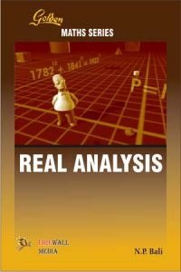 Golden Real Analysis   Book by N  P  Bali   Best Price in India