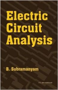 Electric Circuit Analysis: Book by B. R. Subramanyam