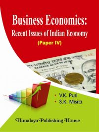 Business Economics: Recent Issues of Indian Economy (Paper IV